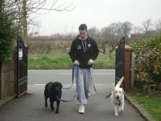 Sam, Alfie and Maggie